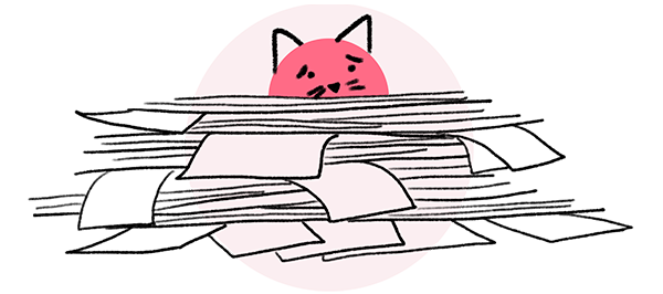 Loomly brand success platform brand content management features organization red cat illustration